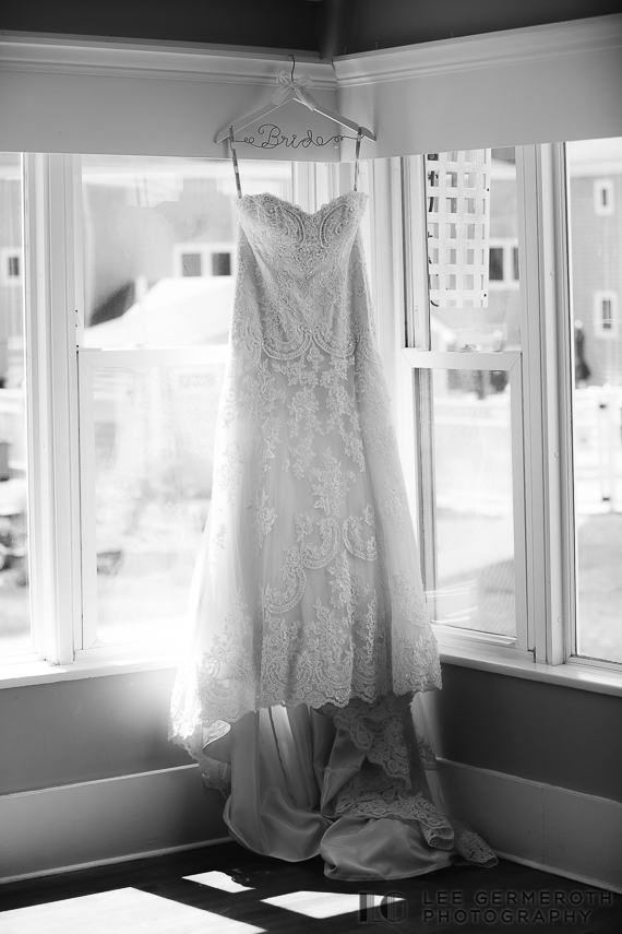 Bridal Gown -- Nonantum Resort Kennebunkport Maine Wedding by Lee Germeroth Photography