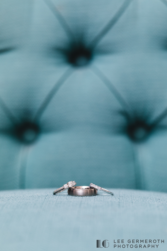 Ring Detail -- Nonantum Resort Kennebunkport Maine Wedding by Lee Germeroth Photography