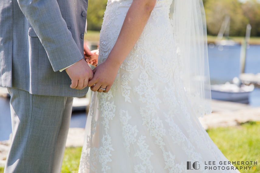 First Look -- Nonantum Resort Kennebunkport Maine Wedding by Lee Germeroth Photography