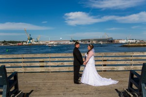 First Look - Portsmouth NH Wedding Photography Lee Germeroth Photography