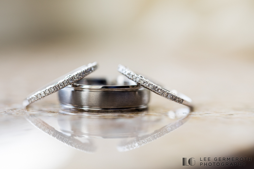 Ring Detail -- South Berwick Maine Wedding Photography by Lee Germeroth Photography