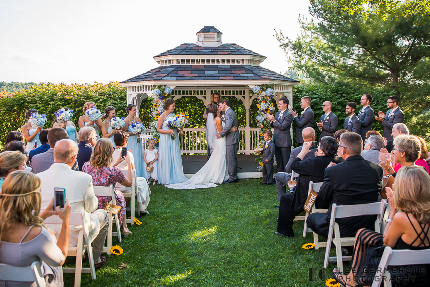 Ceremony -- South Berwick Maine Wedding Photography by Lee Germeroth Photography