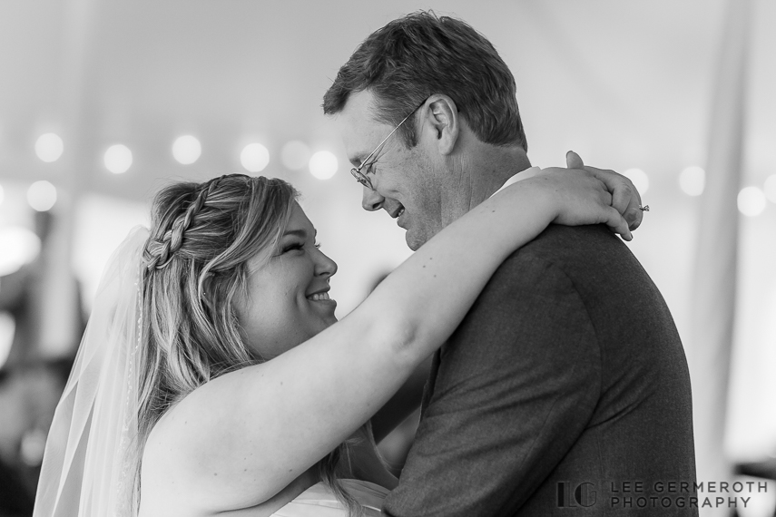 First Dance - Walpole New Hampshire Wedding by Lee Germeroth Photography