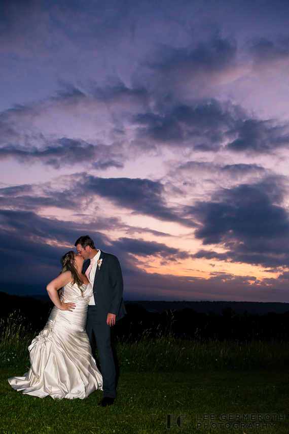 Sunset Creative Photo - Walpole New Hampshire Wedding by Lee Germeroth Photography